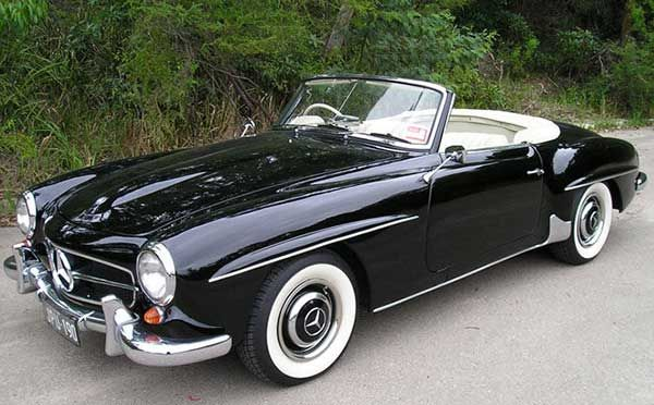 Top 20 Old Classic Vintage Cars For Women With Images Classic
