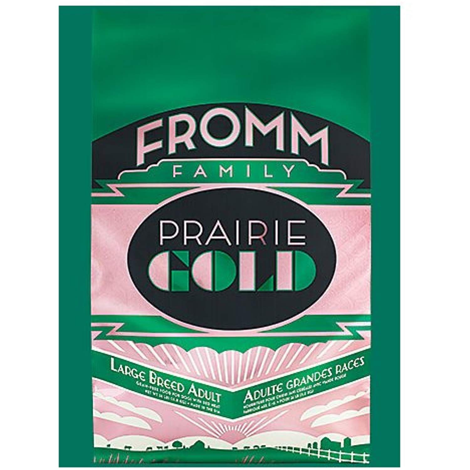Fromm Family Foods 727068 26 Lb Prairie Gold Large Breed