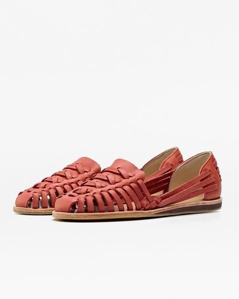 88a6424ab993 Ecuador Huarache Sandal Scarlet