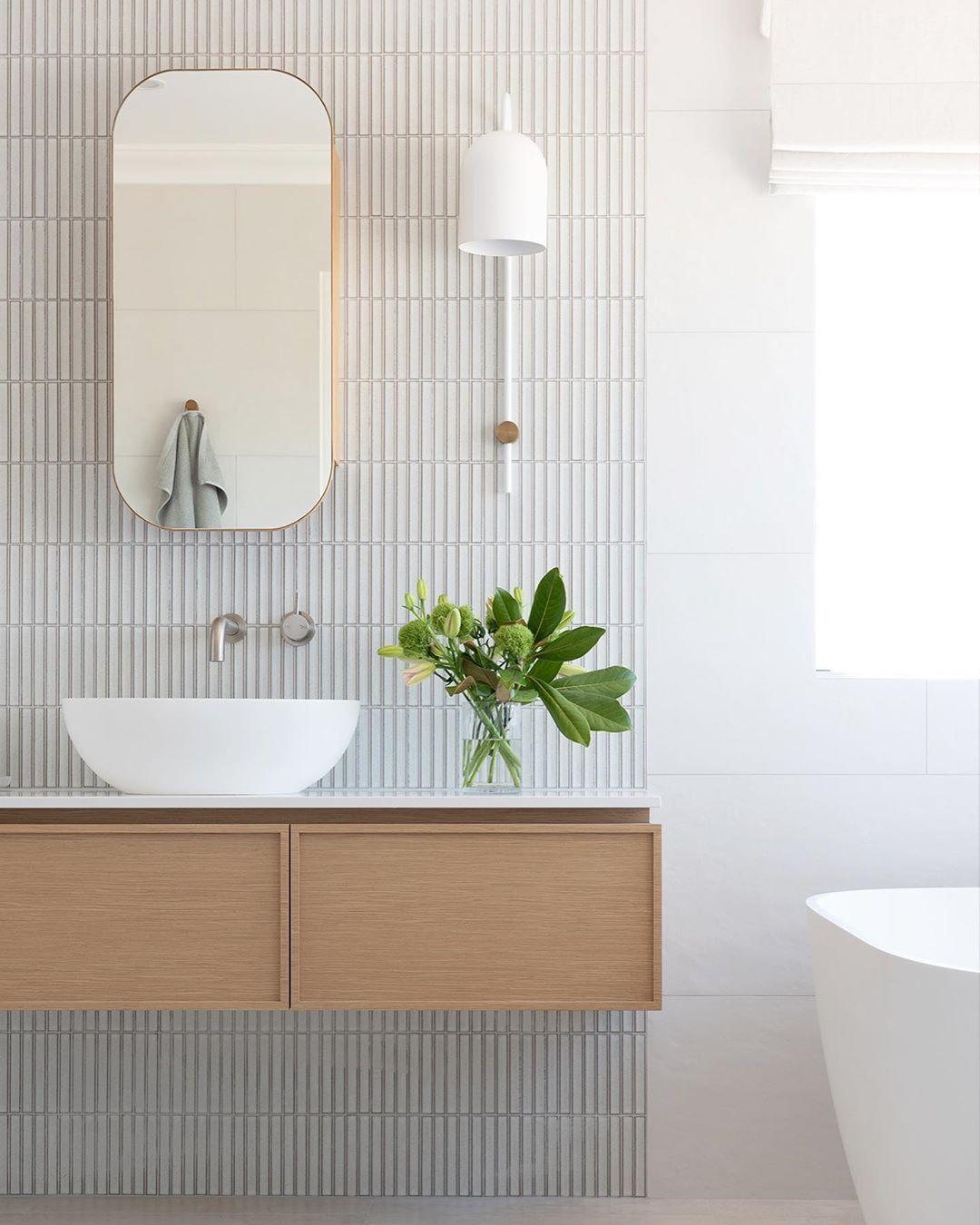 Image May Contain Indoor Bathroom Mirror Design Sleek Bathroom Ensuite Design