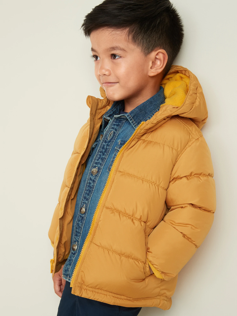 Frost Free Hooded Puffer Jacket For Toddler Boys Old Navy Toddler Boys Boy Outerwear Toddler [ 1333 x 1000 Pixel ]