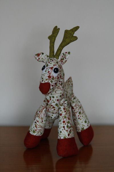 Rudy The Reindeer Christmas Sewing Patterns Christmas