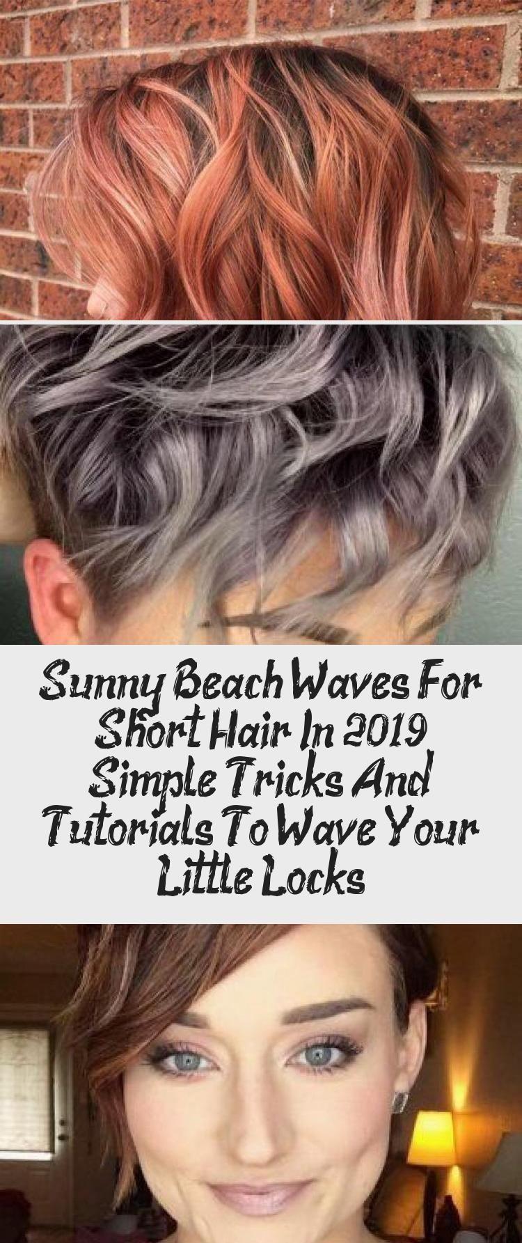 Blonde Beach Waves For Short Hair Beachwaves Shorthair Hairstyles Bobhaircut Blondehair Ev In 2020 Short Hair Waves Beach Waves For Short Hair Short Hair Styles