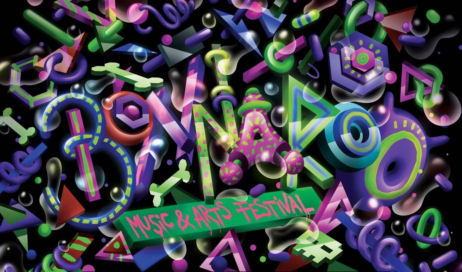 Alex trochut music with images art festival music