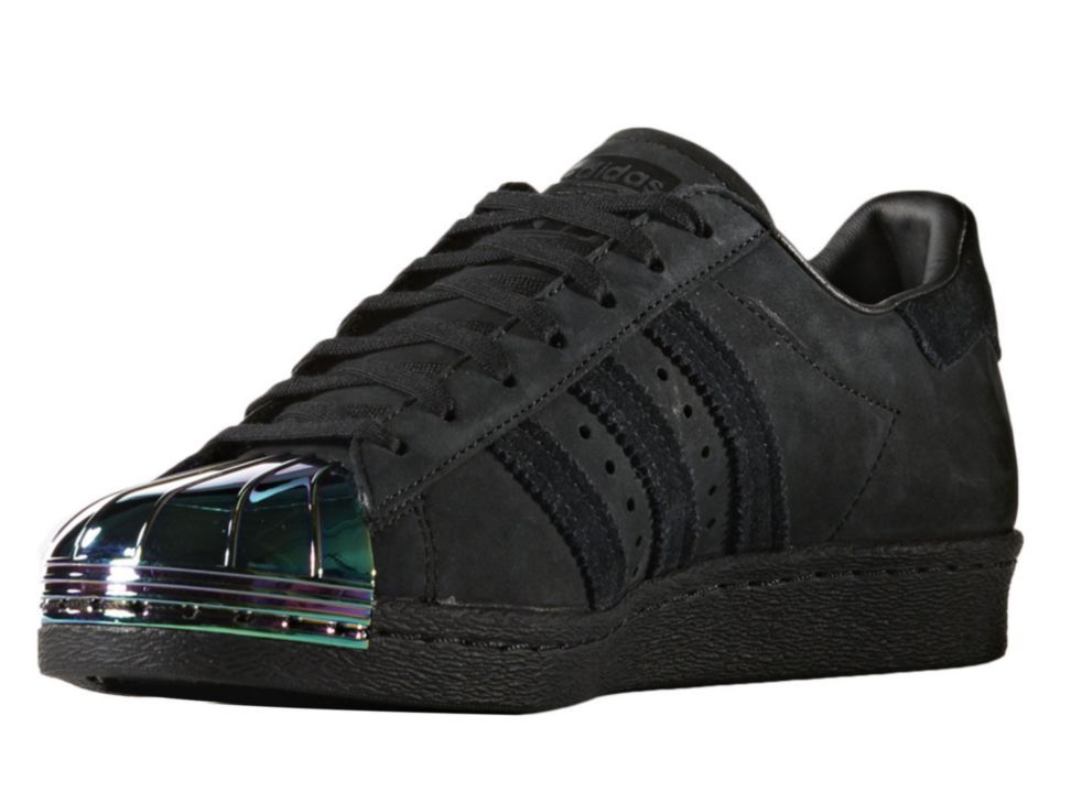 separation shoes 3a16b f0826 Adidas Superstar 80s Metal Toe para Dama