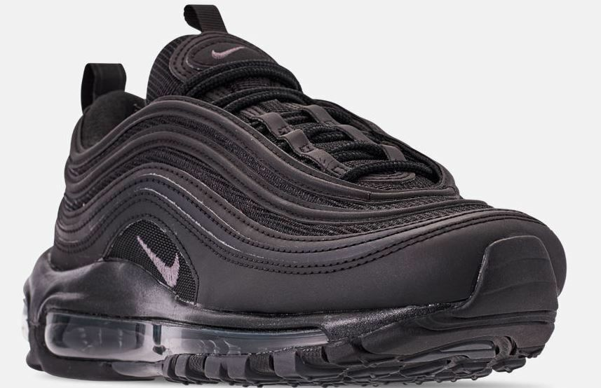 NIKE AIR MAX 97 BLACK WITH DARK GREY WOMENS RUNNING SHOES