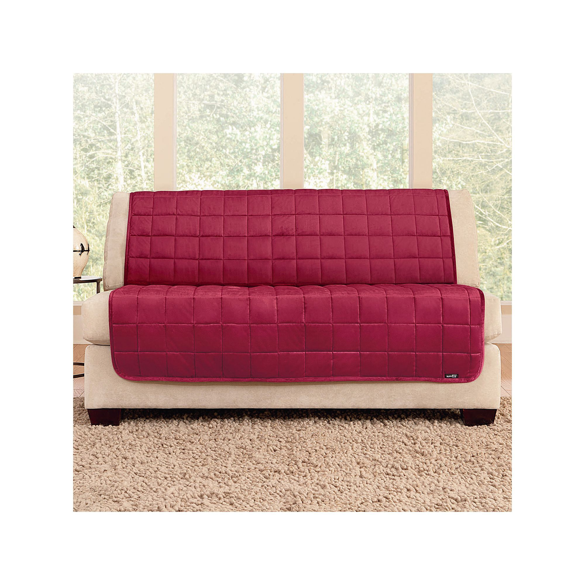 Sure Fit Deluxe Comfort Armless Loveseat Slipcover | Products ...