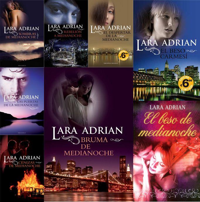 Mi Saga Favorita De Libros De Vampiros Raza De Medianoche De Lara