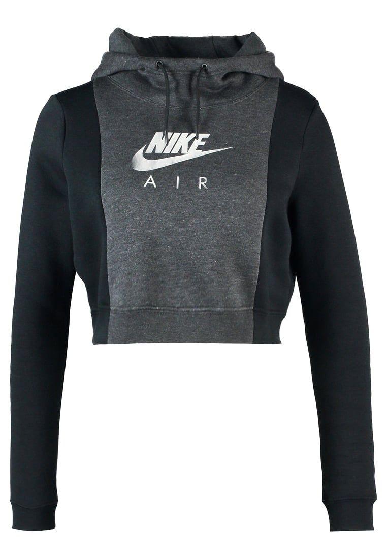 Vêtements Nike Sportswear RALLY AIR - Sweat à capuche - black   59 ... ca9badbf87b