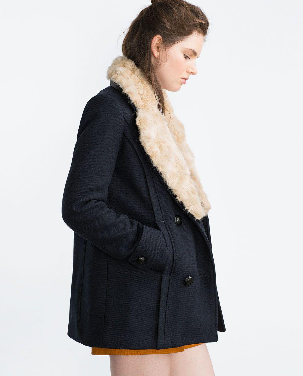 Veste hiver femme zara
