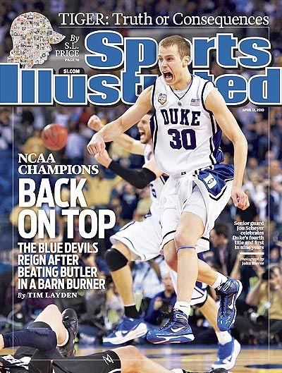 e3a4907a3c1 Sports Illustrated Go Duke Blue Devils John Scheyer