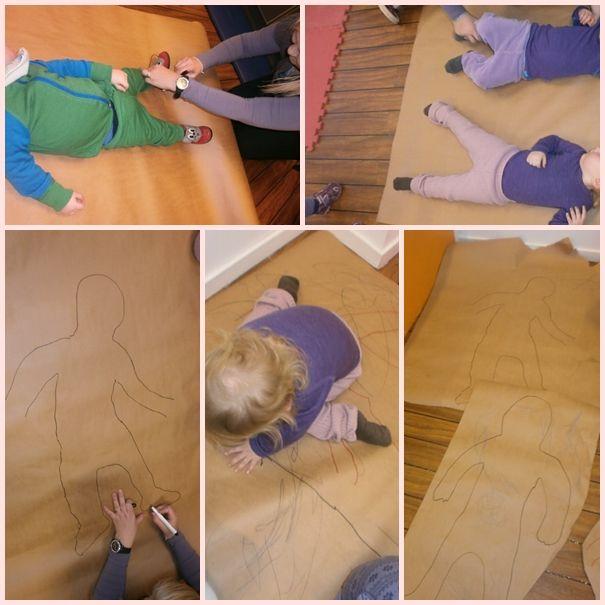 tema kroppen på förskolan