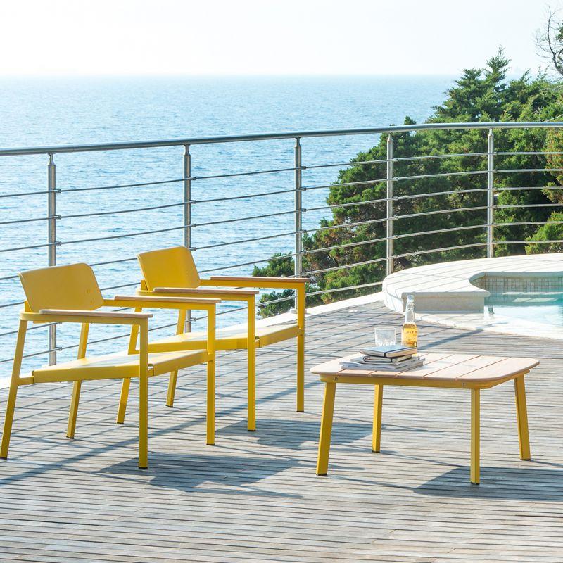 Mobilier de jardin emu meubles exterieur emu with for Emu salon jardin