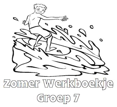 Zomer Werkboekje Groep 7 - Klaarwerk.nl