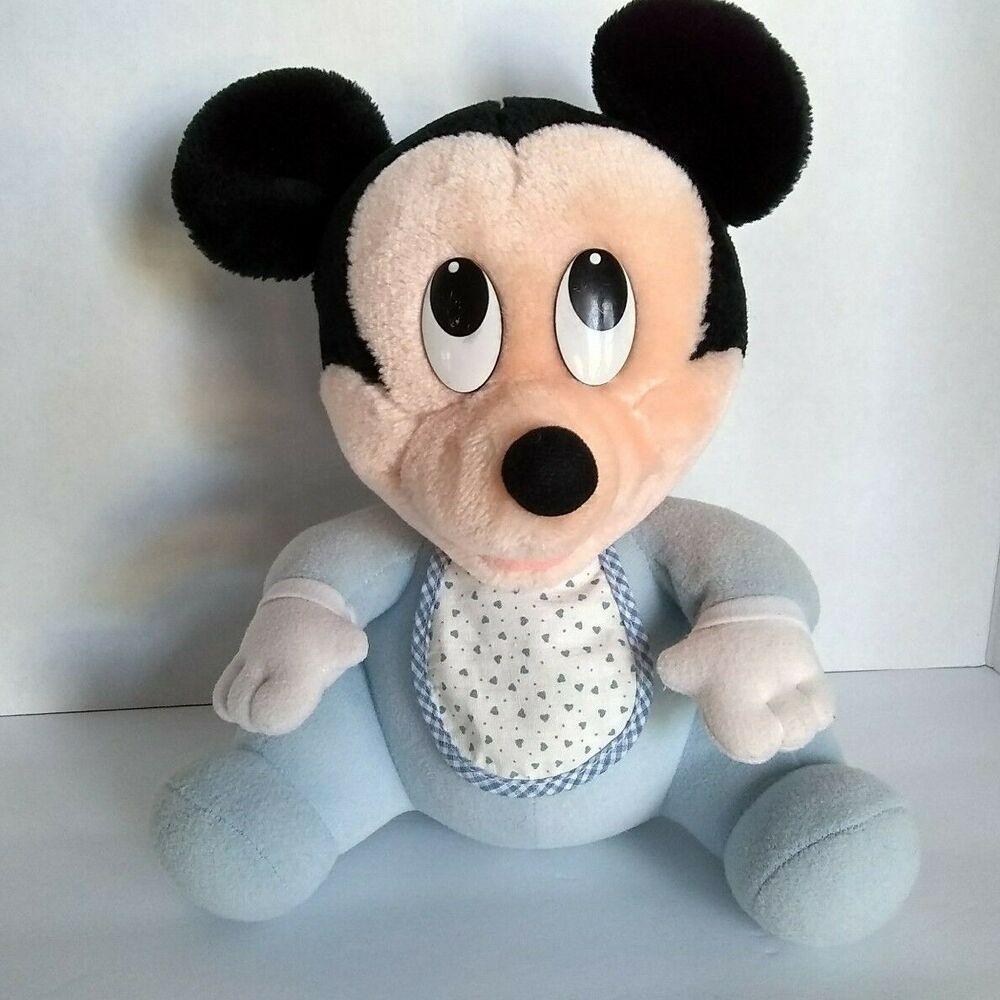 Predownload: Vtg 1984 Disney Babies Mickey 11 Playskool Mouse Plush Soft Stuffed Toy Animal Disney Animal Plush Toys Baby Mickey Mouse Baby Mickey [ 1000 x 1000 Pixel ]