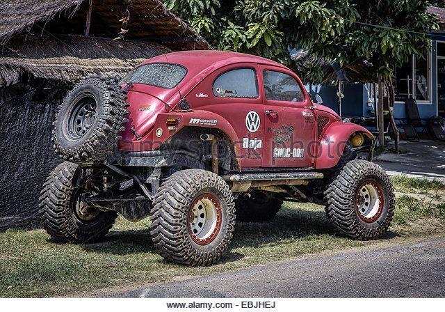 Volkswagen Beetle Monster Truck Stock Image