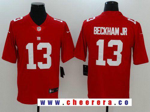 9e82e108f ... czech mens new york giants 13 odell beckham jr red 2017 vapor  untouchable stitched nfl nike