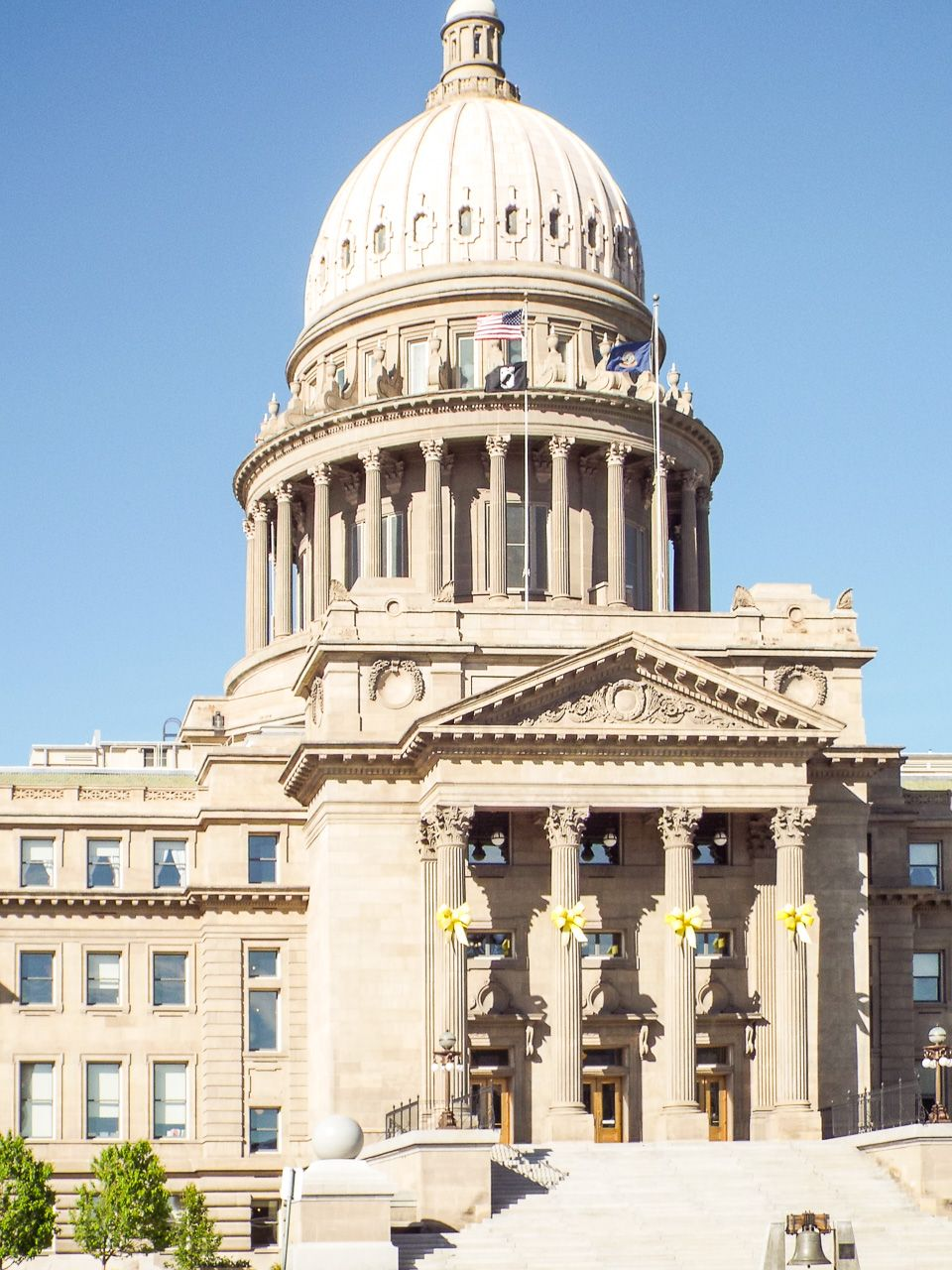 The Idaho State Capital Building In Boise Idaho It Was The Tallest Building In Boise From 1920 To 1975 Currently The 5th Boise Wonderful Places Idaho State