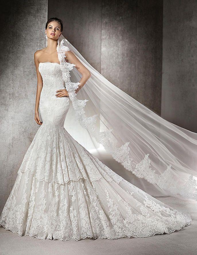 rivoli, vestido de novia, estilo sirena, escote bañera | bodas