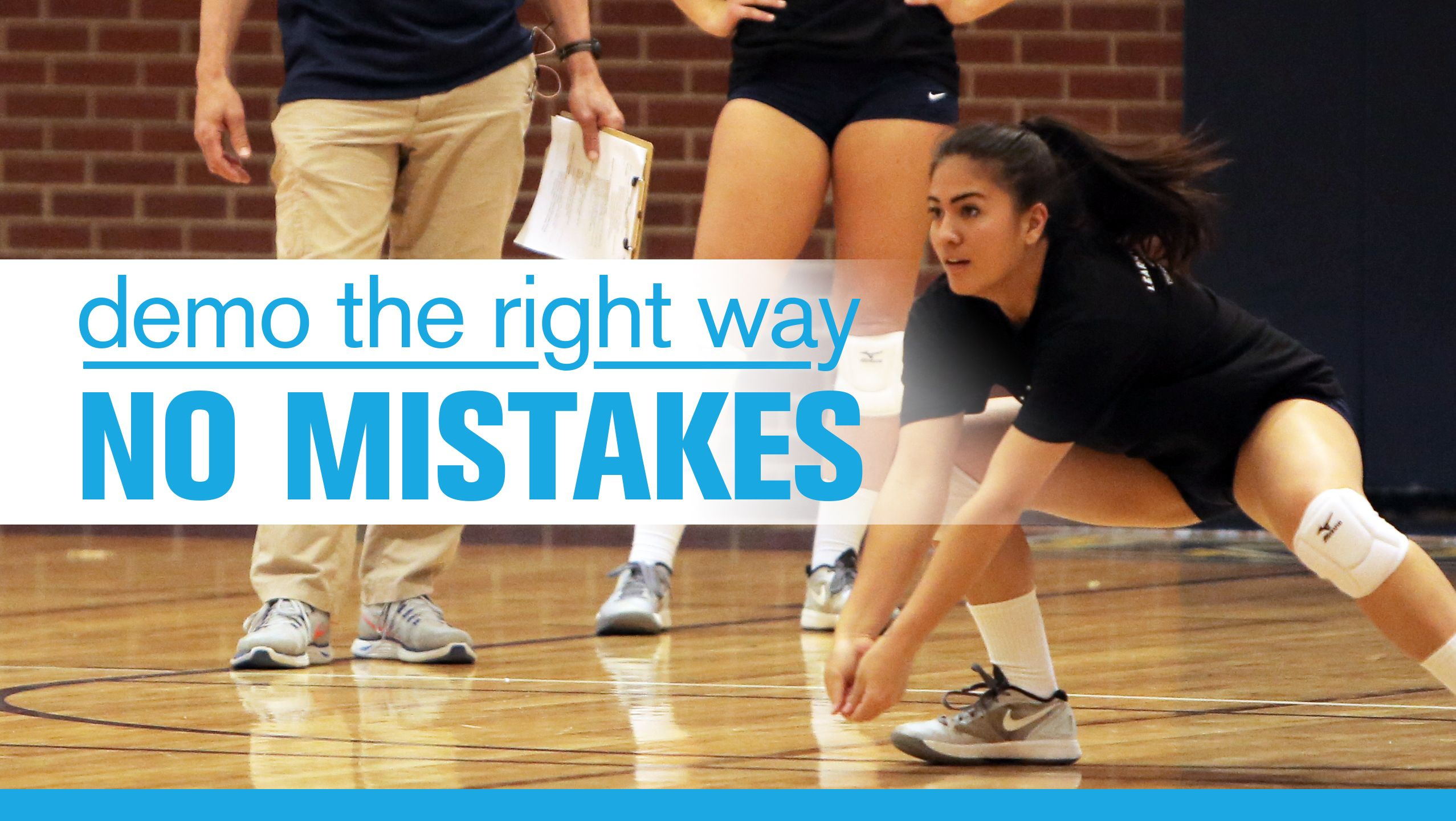 Demo The Right Way Don T Show Mistakes The Art Of Coaching Volleyball Volleyball Skills Coaching Volleyball Coaching