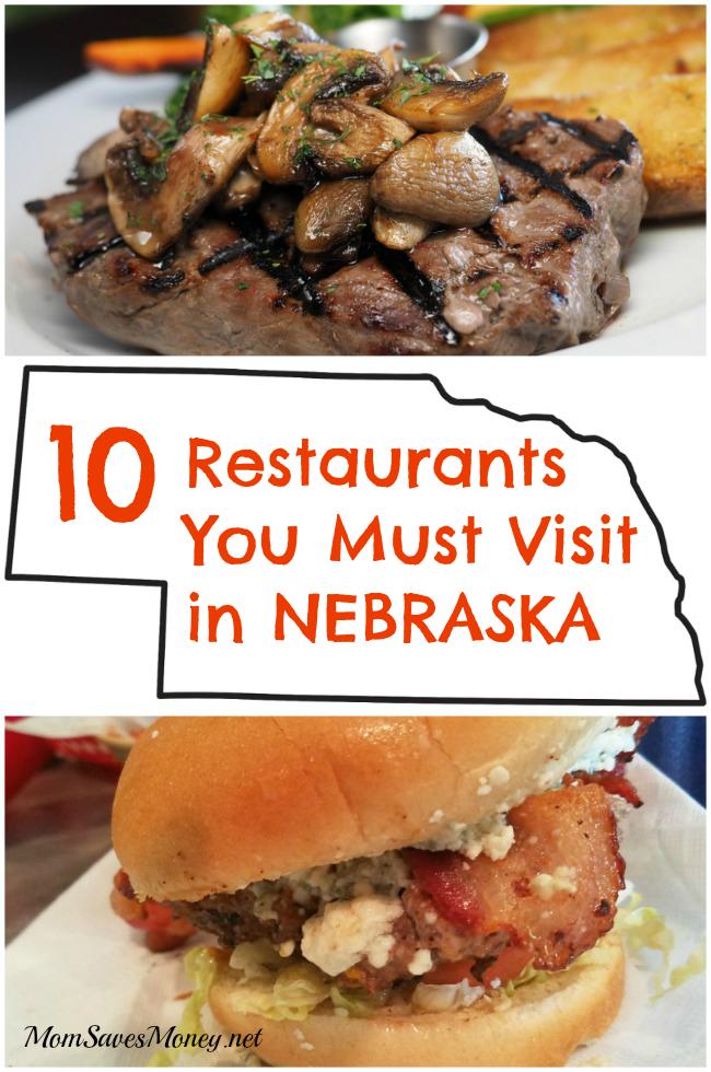 Foodie Journey Through Nebraska 10 Restaurants You Must Try Mom Saves Money Travel Nebraska Nebraska Omaha Nebraska
