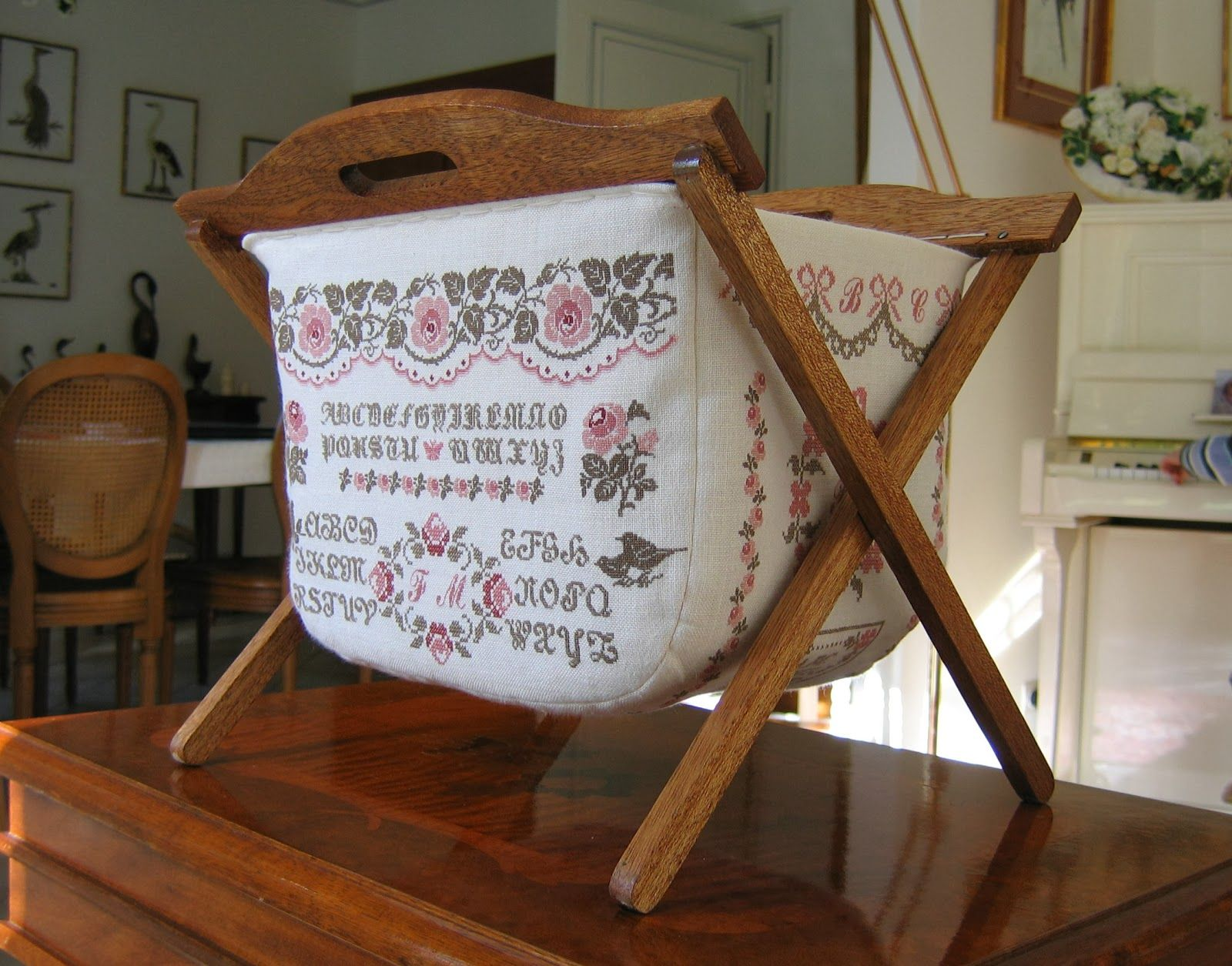 beautiful sewing basket bastelideen pinterest f r zu hause zu hause und praktisch. Black Bedroom Furniture Sets. Home Design Ideas