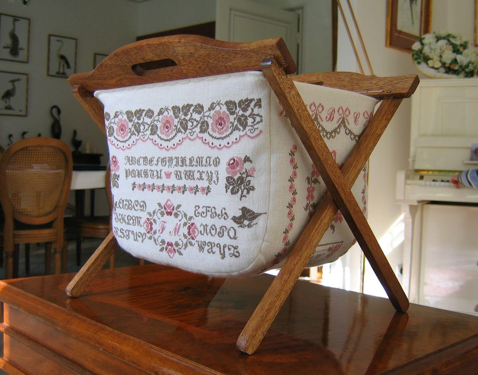 beautiful sewing basket bastelideen pinterest f r zu. Black Bedroom Furniture Sets. Home Design Ideas