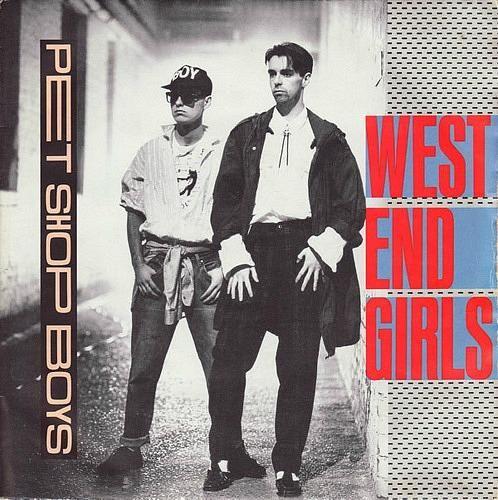 Pet Shop Boys West End Girls Vinyl Sleeve Pet Shop Boys