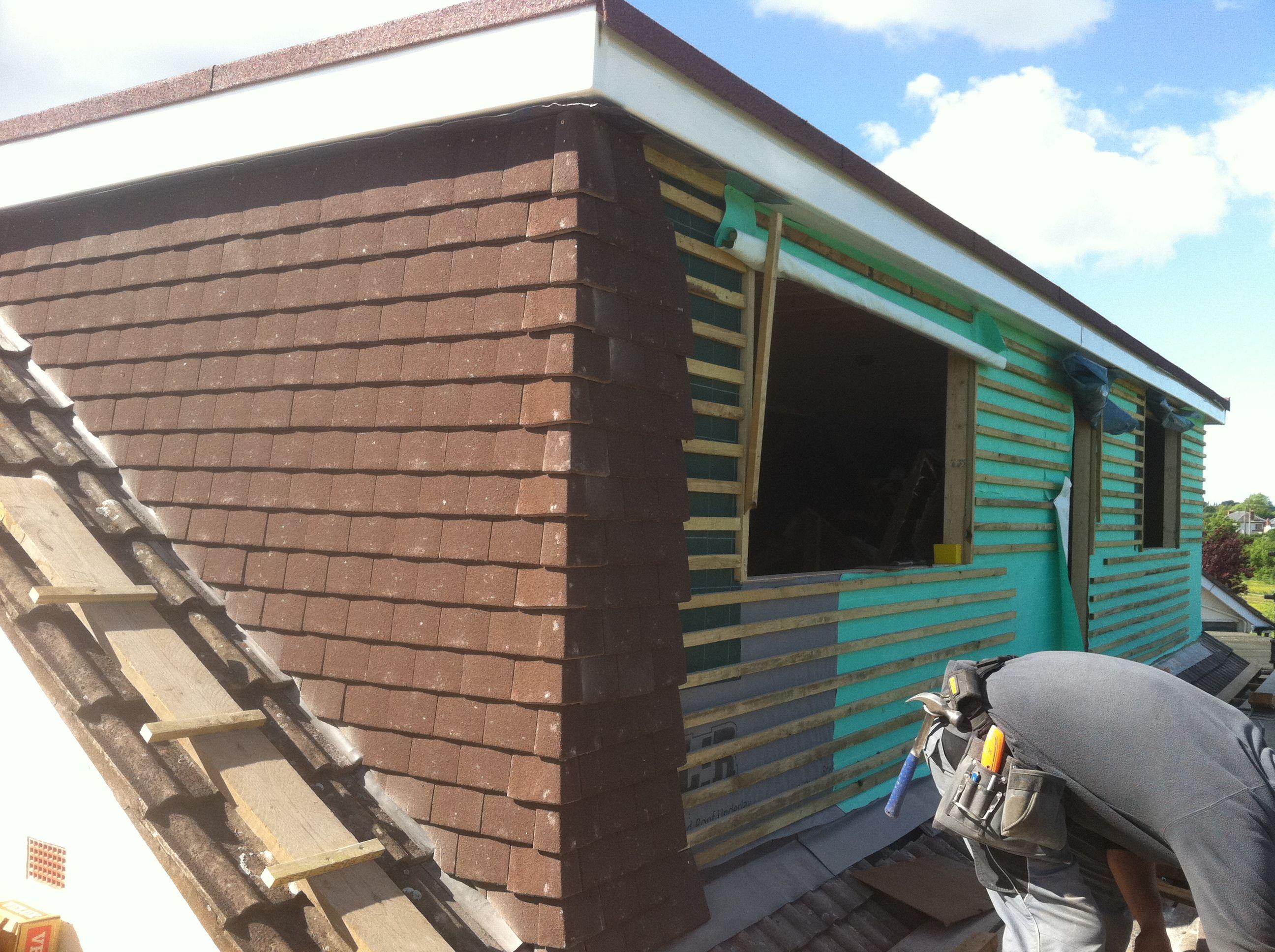 Loft Conversion Flat Roof Dormer In Build 7 Loft Conversion Flat Roof Loft Conversion Attic Loft