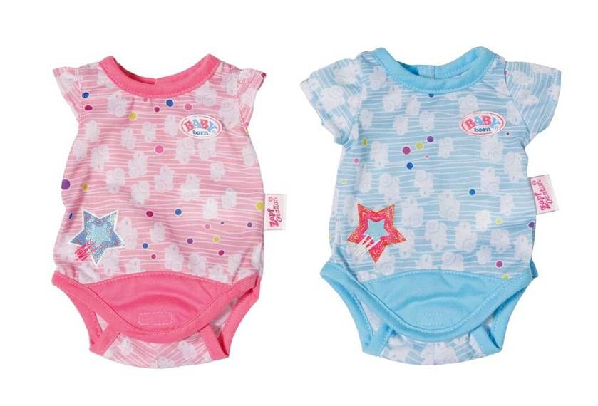 Baby Born 174 Body Collection Baby Alive Doll Clothes Cute