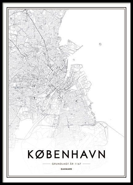 Prints Online Buy Prints With Scandinavian Design From Desenio - Buy map posters