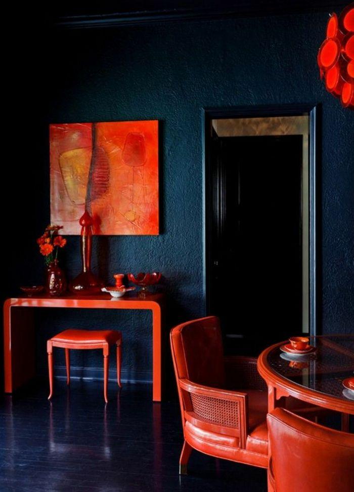 raumgestaltung mit farbe rote akzente setzen, ▷ 1001 + ideen zum thema welche farbe passt zu rot | wandgestaltung, Design ideen