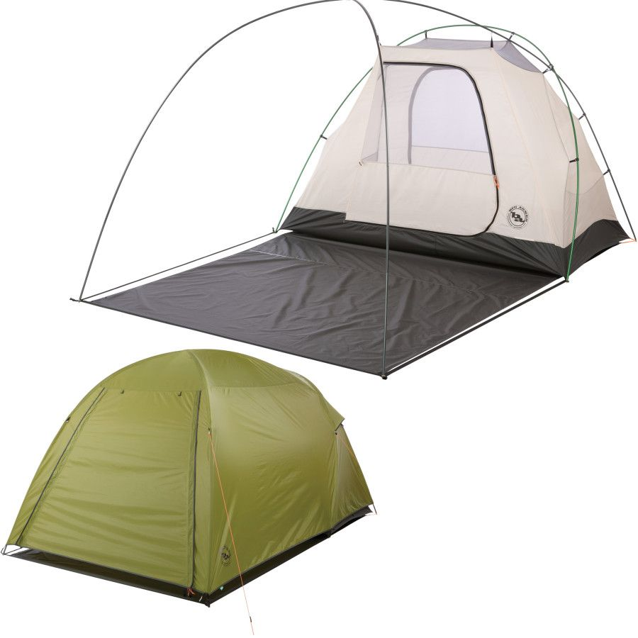 Big Agnes Wyoming Trail 2 Tent 2-Person 3-Season | Backcountry.  sc 1 st  Pinterest : 2 person tent with vestibule - memphite.com