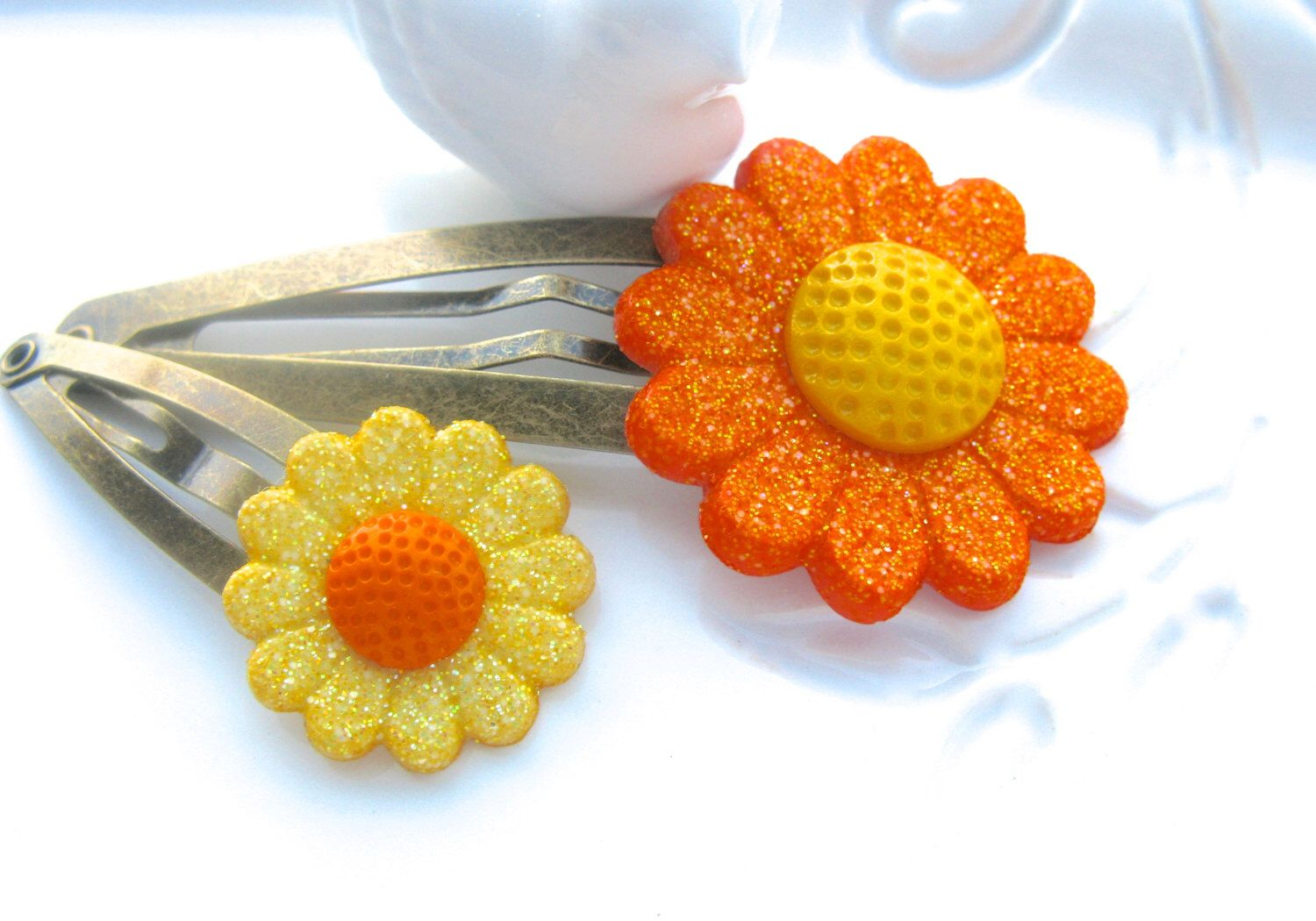 A personal favorite from my Etsy shop https://www.etsy.com/listing/254874979/fall-hair-clips-fall-flowers-fall-hair