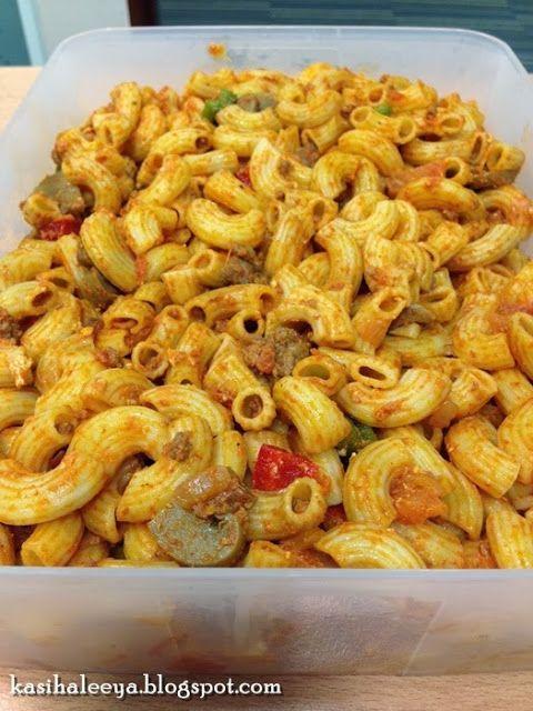 The Kasihs Resepi Macaroni Goreng Recipes Food Cookery