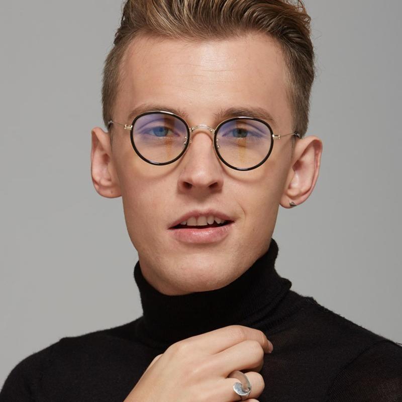 e541ae315c JackJad 2017 New Fashion Metal Round Frame Vintage Retro Style Plain Glasses  Brand Design Eyewear Frame Eye Glasses Frame Model