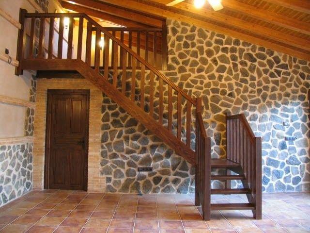 Decoración para escaleras Dicroicos LED en escaleras - Starisled - escaleras de madera rusticas