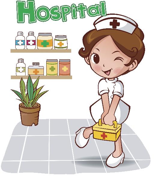 Enfermera trabajando animada - Imagui | Dibujos | Pinterest ...