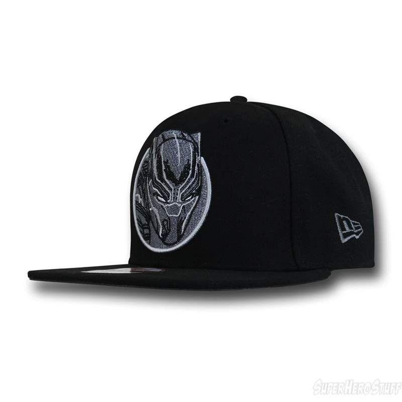on sale 1caa3 50c49 Captain America Civil War Black Panther 950 Snapback Hat