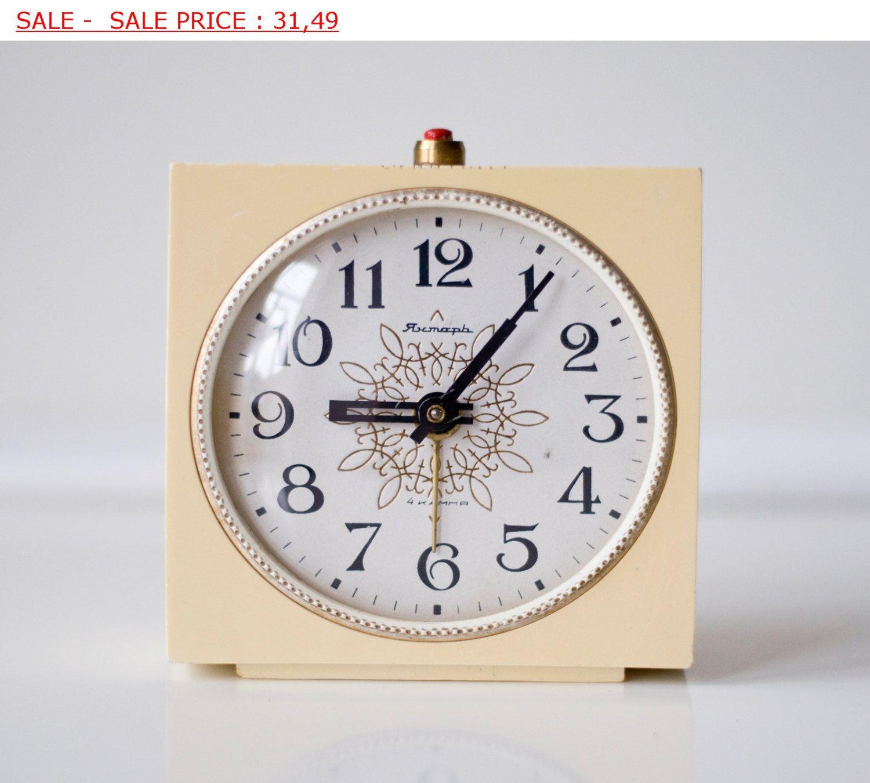 Soviet clock russian clock vintage clock by sovietwatches on etsy soviet clock russian clock vintage clock by sovietwatches on etsy amipublicfo Images