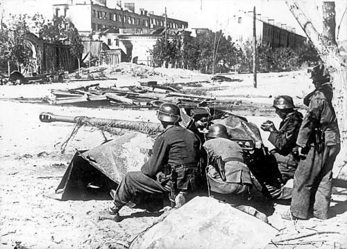 German 50 Mm Anti Tank Gun: A German 50-mm Anti-tank Gun PaK 38 And Gun Crew At The