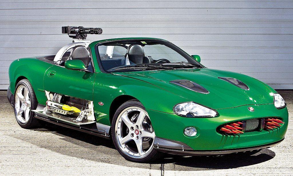 Photo of Jaguar's XKR to the Aston Martin DB5: The Bond cars
