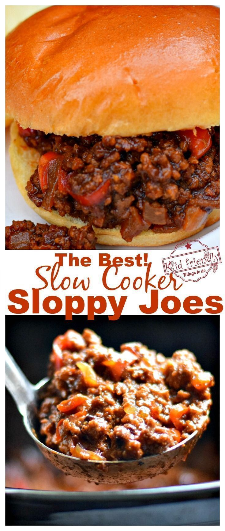 The Best Slow Cooker Sloppy Joes I've Ever Had! - Easy images