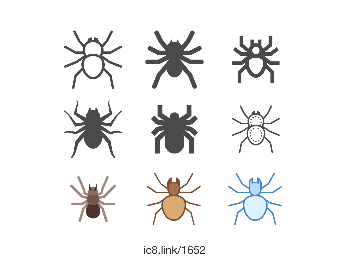 Free Flat Spider Icon Of Linen Available For Download In Png Vector Svg And As A Font Halloween Icons Graphicdesign Illust Icon Spider Graphic Design