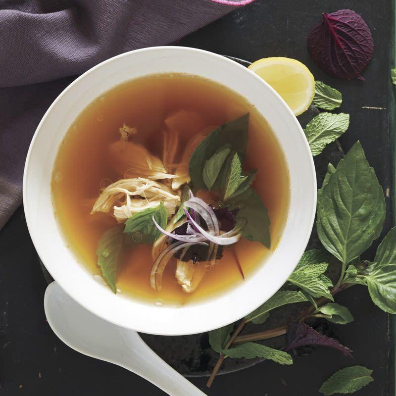 Vietnamese Lemongrass Chicken Soup Recipes Ww Usa Recipe Chicken Soup Recipes Chicken Soup Soup Recipes