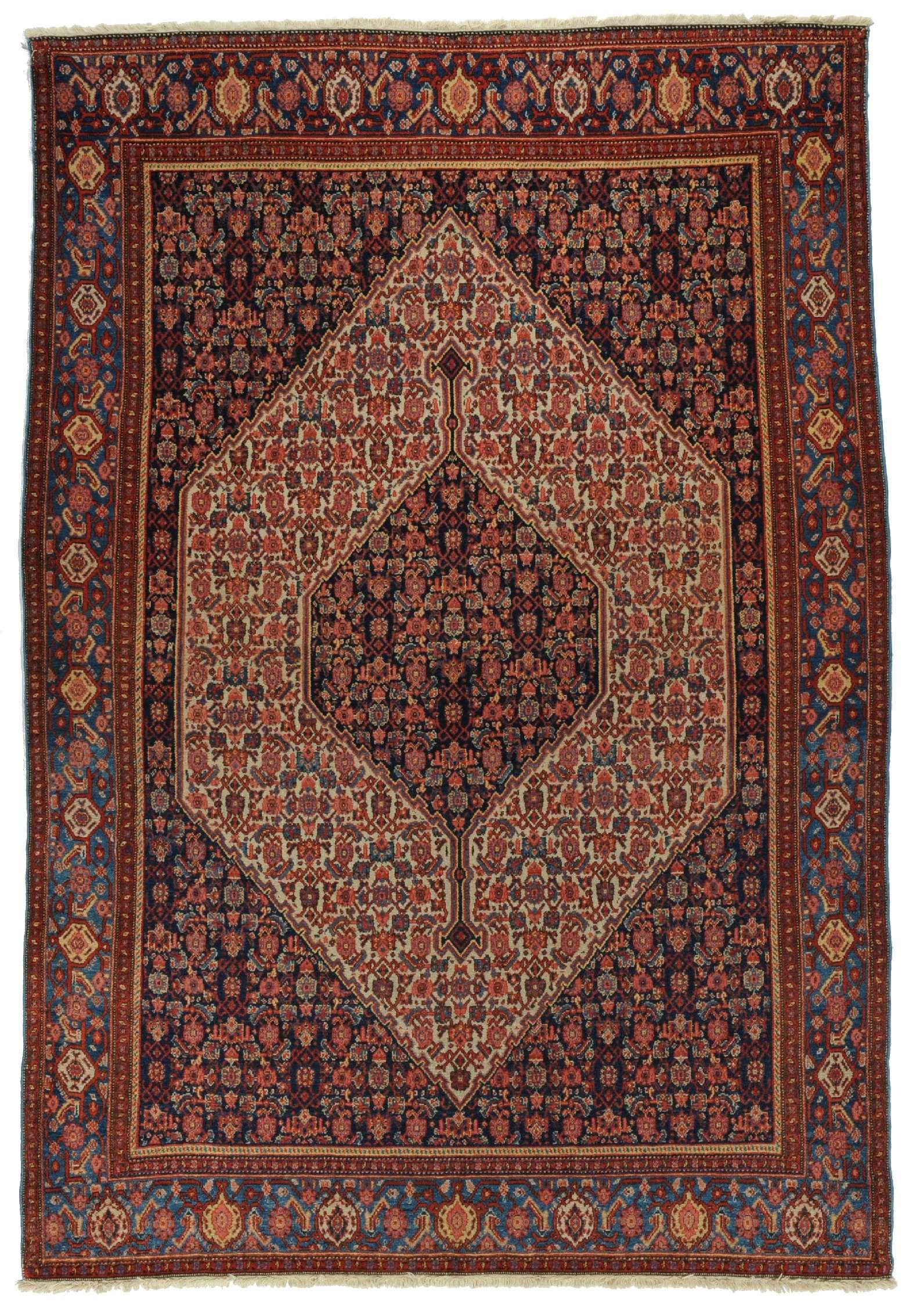 Senneh Herkunft Iran Alter Antik Lange 196 Breite 137 Perserteppich Teppich Persischer Teppich