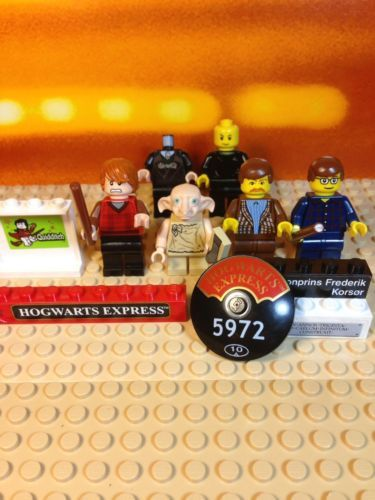 Lego Harry Potter Minifigures Ron Weasley Dobby Uncle Vernon Dursley https://t.co/dF5rTvCL1o https://t.co/phgHrF9ffh