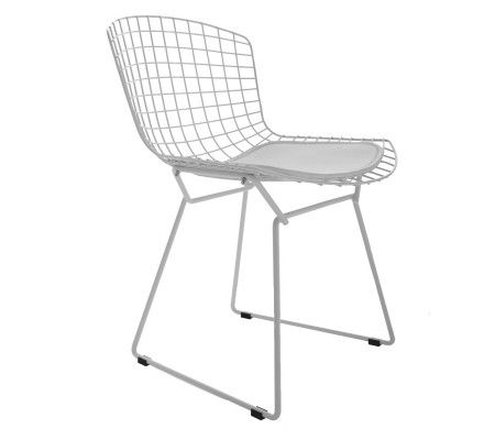 Bertoia Chair With Cushion Inspiration Harry Bertoia Chaises Bertoia Chaise Coussin