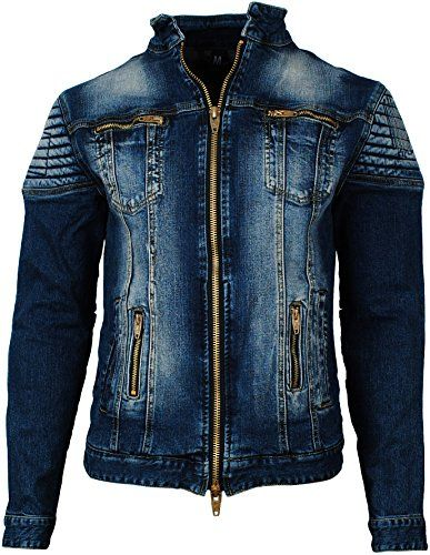 X-Future Mens Washed Casual Ripped Distressed Slim Jacket Vest Waistcoat