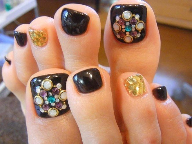 35 easy toe nail designs that are totally worth your time long 35 easy toe nail designs that are totally worth your time prinsesfo Choice Image